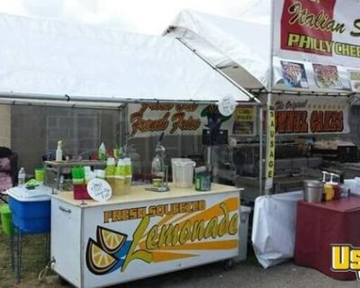 Concession Stand with Enclosed Trailer