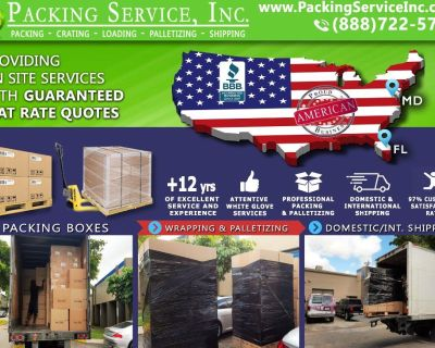 Packing Service, Inc. Professional Shipping and Packing Boxes - Dallas, Texas