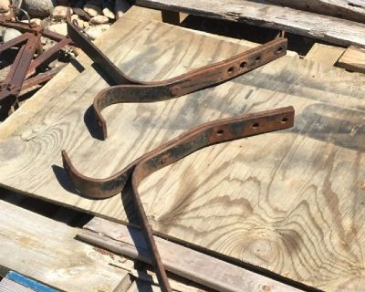 1950 Chevy pickup  front bumper brackets  Also fits 1947 thru 1955 first series Chevrolet and G