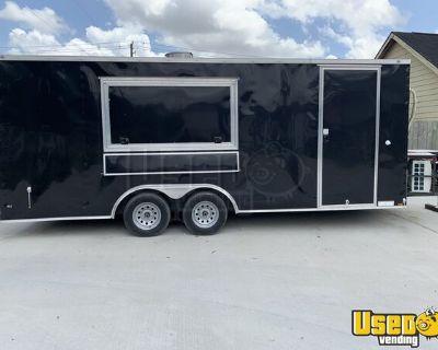 BRAND NEW 2020 Diamond Cargo 8.5' x 20' Mobile Kitchen Food Concession Trailer