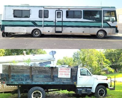 1996 Safari Serengeti Motorhome & 1989 Ford F700 Dump Truck Estate Auction