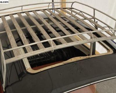 Roof rack luggage 10 wood slat welded OG style