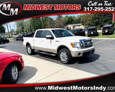 """Used 2010 Ford F-150 4WD SuperCrew 145"""" Lariat"""