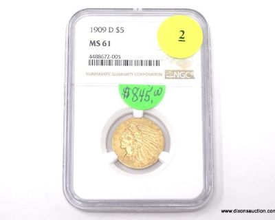 9/3/2021 High-End Graded Coin Collection Online Sale Part #1.