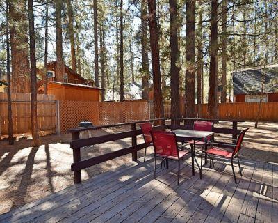 Snowed In: Close to Restaurants! Large Treed Lot! Internet! BBQ! Wood Burning Fireplace! - Big Bear City