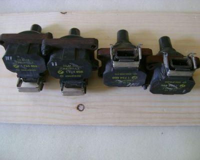 Bmw 318i Ignition Coil Set Of 4 12131734468
