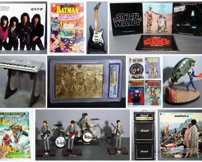 Records, Comics, Action Figures, Music And More
