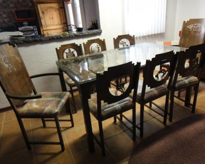Hand-Crafted Southwest Dining Room Furniture