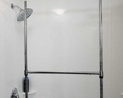 Clothing or Drying Hanging Rack (Portable and Bar Can be moved up or down) Perfect for Camping