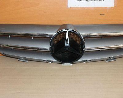 03 04 05 06 07 08 09 Mercedes Clk Clk350 320 Gray Grille Grill Genuine Oem Nice