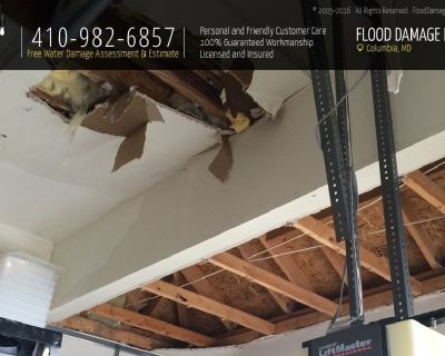 Water Damage Restoration Services in Columbia, MD
