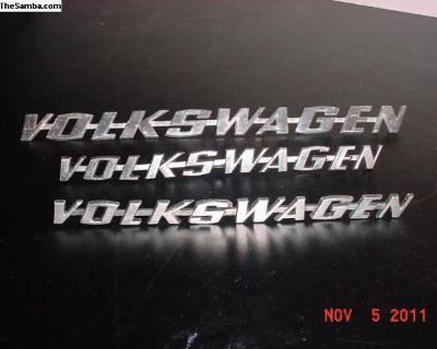 Volkswagen Rear Deck Lid Emblem