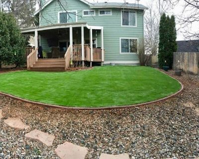 New Artificial turf Installations in Boulder