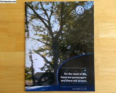 2004 Volkswagen full line brochure