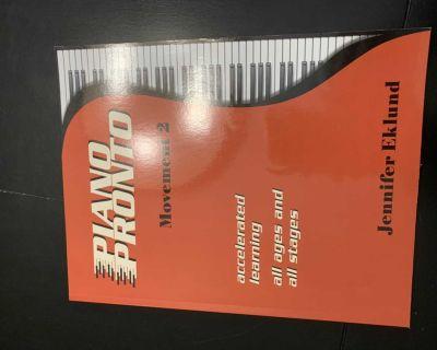 Piano Pronto level 2 piano book