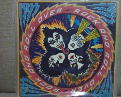 Original kiss vinyl records