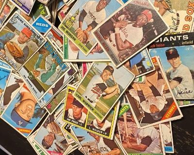 Treasure Me Presents an Online Auction - Baseball (and Other Sports) Trading Cards