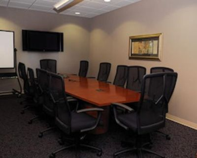 Private Meeting Room for 12 at Office Space & Solutions Virginia Beach