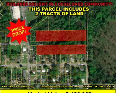 2 Lots for Sale in Alachua, FL