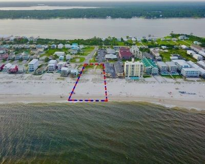 1.44 Gulf Front Acres in Gulf Shores Approved for 49 Units