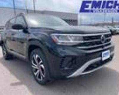2021 Volkswagen Atlas Black
