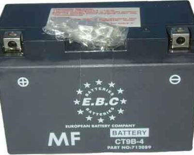 Yamaha R6 Battery Yt9b-4 Yt9b4 Gt9b-4 18 Mon Warranty