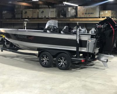 2021 Alumacraft Competitor 205 CS Aluminum Fish Boats Edgerton, WI