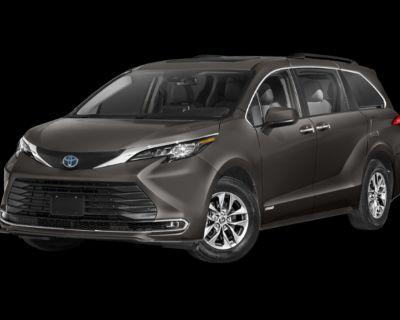 New 2021 TOYOTA Sienna XLE (7 Psgr) Front Wheel Drive 4 door