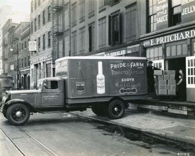 Vintage PRIDE OF THE FARM TOMATO CATSUP Bottle (Brighton, NJ)