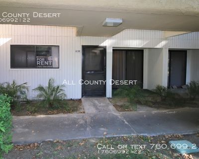 One Bedroom/One Bath Unfurnished Condo for Long Term Lease in Palm Springs Villas II