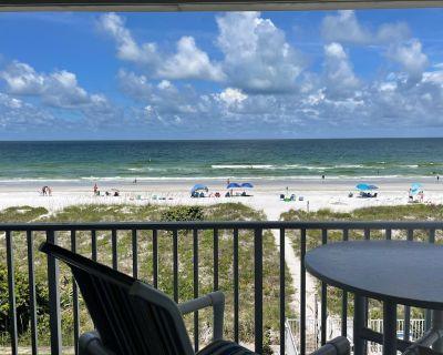 New to Vrbo! Sea Isle Villas - Unit H - Gulf Front Condo, Indian Rocks Beach, FL - Indian Rocks Beach