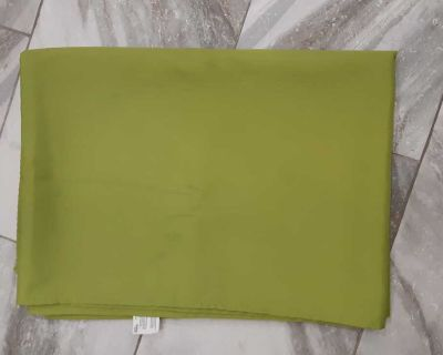 FREE to whom can use it. Green large rectangle light green table cloth stains on it mostly grease can treat