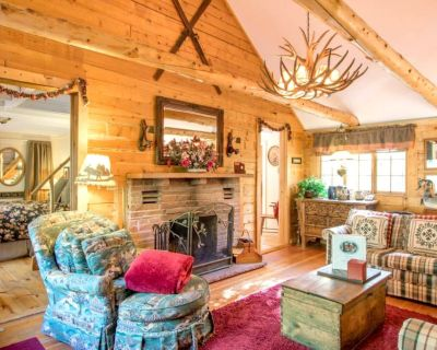 Enchanting log cabin mountain woods and meadow with free wifi - Allenspark