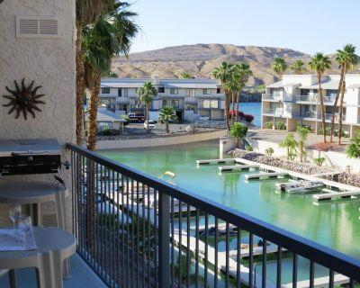 Riverfront Condo! - Marina/boat slips/pool/spa/river dock - 2Bed 2Bath - Bullhead City