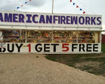 operate a fireworks stand this winter