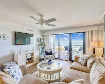 DAILY ACTIVITIES & LINENS INCLUDED*! Direct oceanfront two bedroom, two bath with enclosed den (used as 3rd bedroom). - North Ocean City