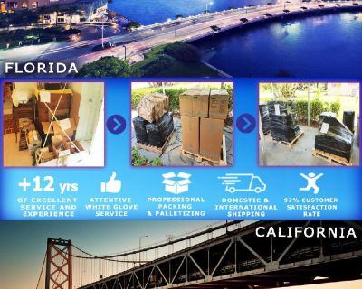 Packing Service, Inc. Shipping Services and Palletizing Boxes - Orlando, Florida