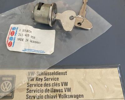 NOS K Code Ignition Switch Tumbler T 1,3 Ghia