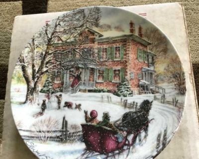 Coming Home - collector plate