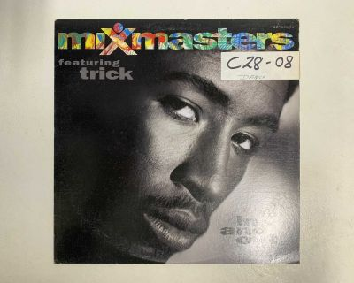 """Mixmasters In And Out Hip Hop Vinyl Record 12"""" Single"""