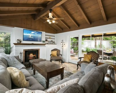 Iconic La Jolla Adobe Home   Private Hot Tub   Secluded Courtyard Firepit - Village of La Jolla