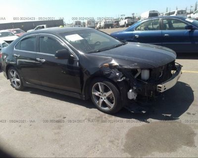 Salvage Black 2012 Acura Tsx