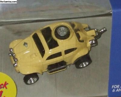 thunder jets baja bug - yellow
