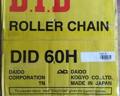 New DID 60H 10' Roller Chain