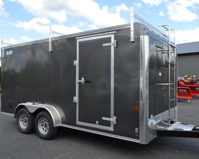 2021 Car Mate Trailers 7X16 Contractor Trailer PKG2 Double Door Trailer - Cargo Harrisburg, PA