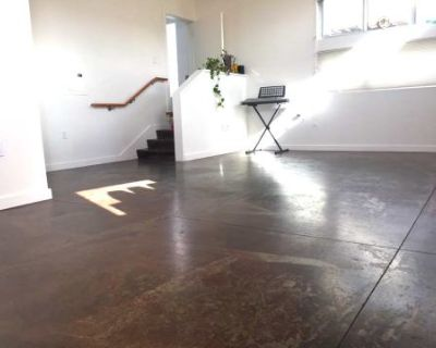 Bright Modern Yoga Studio with great natural light in West Oakland, Oakland, CA