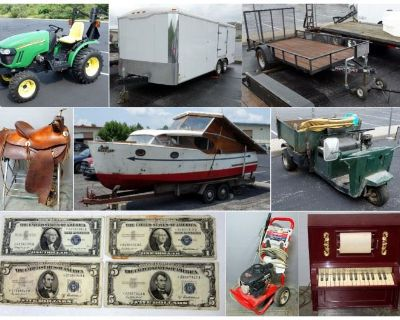 Happy Trails To You Combined Estate Auction