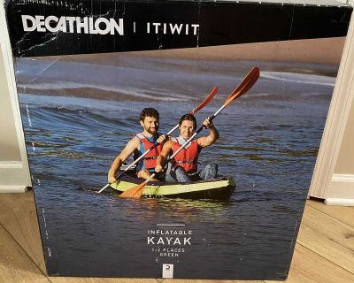 Inflatable kayak new in box retail $275