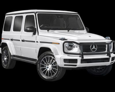 New 2021 Mercedes-Benz G-Class G 550 4MATIC SUV With Navigation & AWD