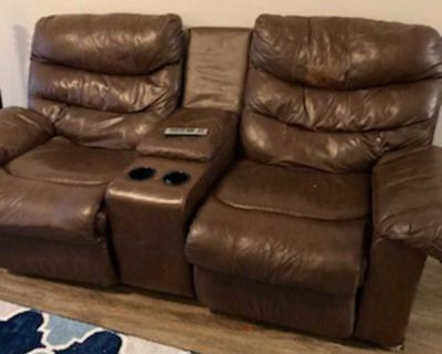 2 recliner loveseat/couch